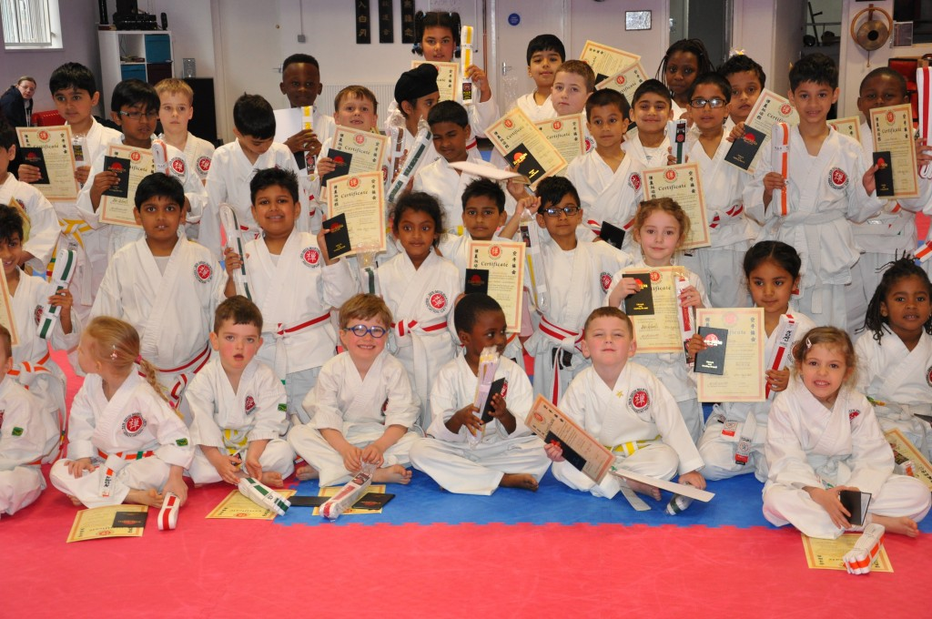 April junior grading 2018