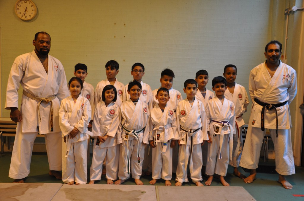 Saltley karate kids