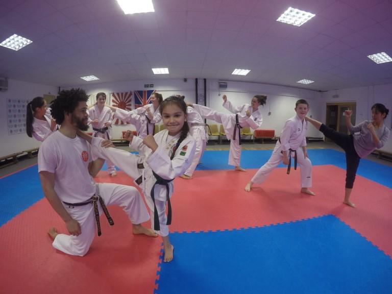 Kicking class