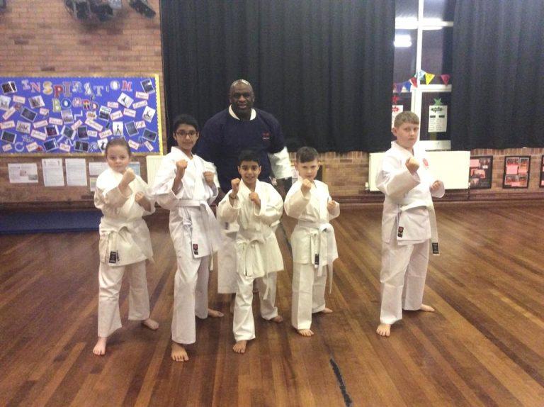Bartley green karate class